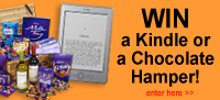 Win a kindle or a chocolate hamper